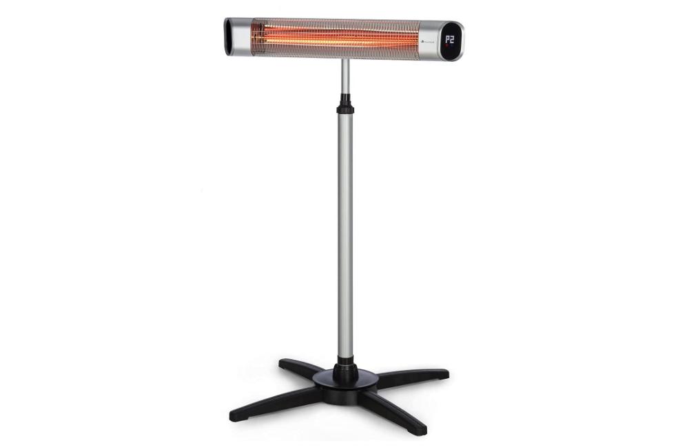 Blumfeldt Dark Wave Standing Infrared Heater